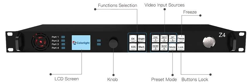 Colorlight Z4 LED Video Processor
